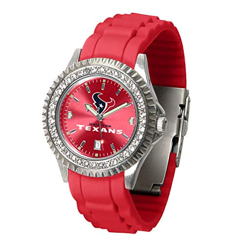 Game Time NFL Houston Texans Womens SparkleWrist Watch, Team Color, One Size
