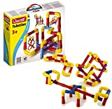 Quercetti Tubation - 40 Piece Interlocking Pipeline Maze Building Set - Open Ended Construction Toy for Ages 3 and Up (Made in Italy)