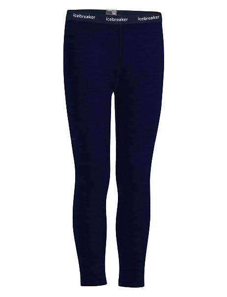 c23bd39884f Amazon.com: Icebreaker Merino Kid's Tech Heavyweight Base Layer Leggings,  Merino Wool: Clothing