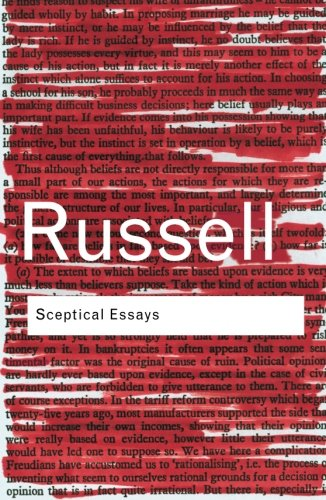 Sceptical Essays (Routledge Classics) (Volume 101)
