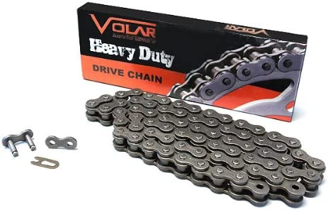Volar Heavy Duty Non Oring Chain for 1974-1976 Yamaha DT125 A//B//C