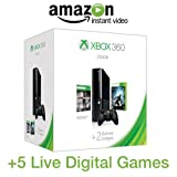 Xbox 360 250GB E Console Holiday Value Bundle (Amazon Exclusive Bonus Value)