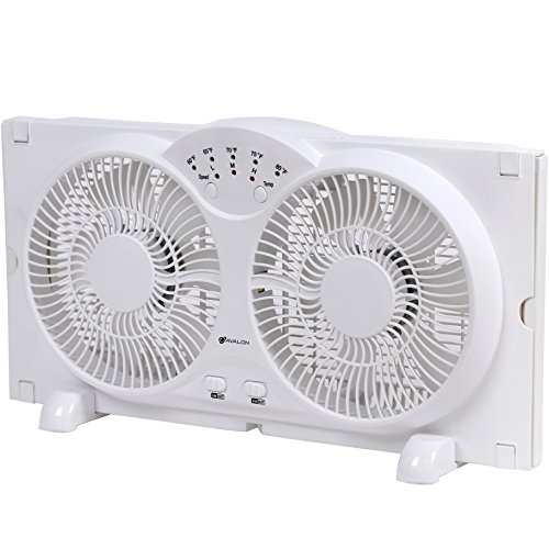 High Velocity Fan Blade : Genesis twin window fan with inch blades high velocity