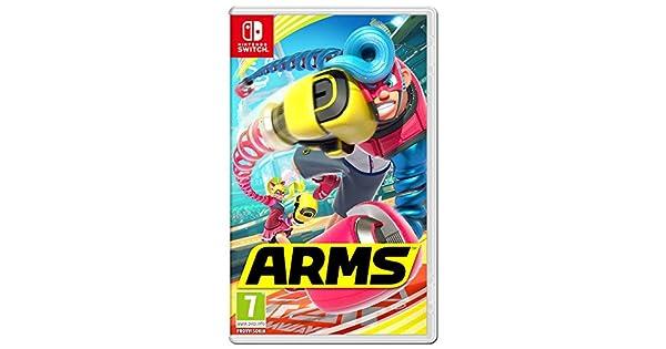 Nintendo ARMS Básico Nintendo Switch Inglés - Juego (Básico ...