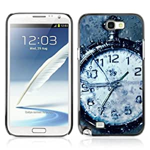 Designer Depo Hard Protection Case for Samsung Galaxy Note 2 N7100 / Vintage Watch