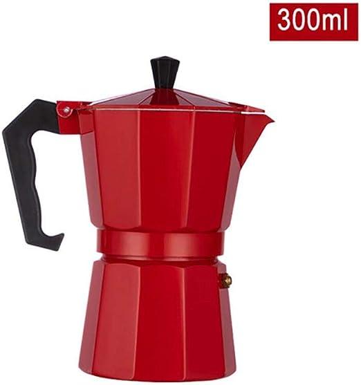 Cafetera espresso de aluminio Estufa superior Cafetera Cafetera 6 ...
