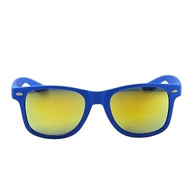Nunettes - Lunettes de soleil - Homme bleu bleu  Amazon.fr ... 357fcece0b61