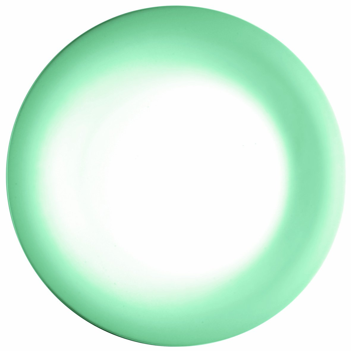 Guzzini 29760086 Bowl Porcelain, 27 cm, Jade Green/Green