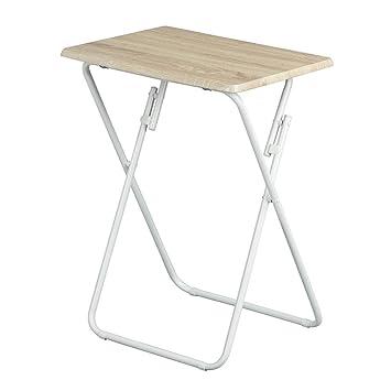 Aingoo Folding Table Small Snack Table Multi-Function Dinner Desk ...
