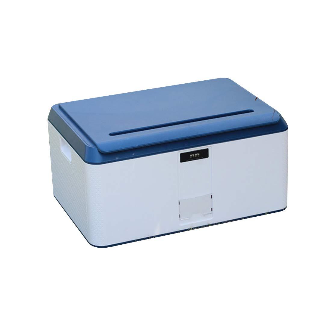 MHKBD-JP多機能メカニカルロックボックス/大容量回収ボックス 収納ケース (色 : Blue 78L, サイズ : 46*28*24.5cm) B07T531C2B Blue 78L 46*28*24.5cm