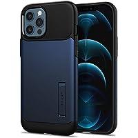 Spigen Slim Armor Designed for iPhone 12 Pro Max Case (2020) - Navy Blue
