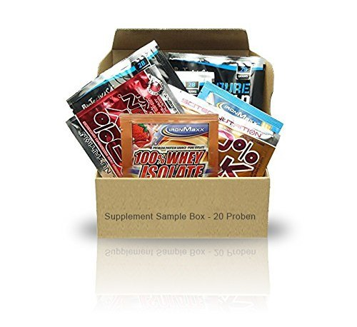 Supplement Sample Box - 20 Proben diverser Hersteller