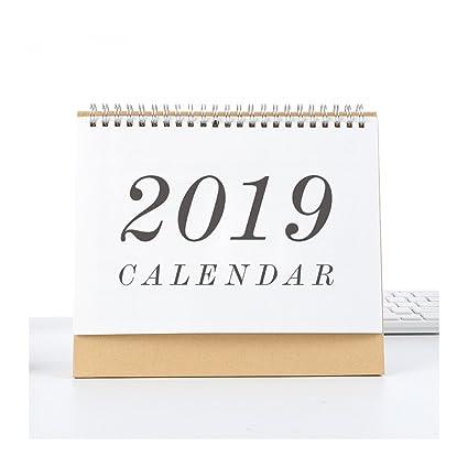 Amazon Com 2019 Desk Calendar Melyaxu Monthly Calendar September