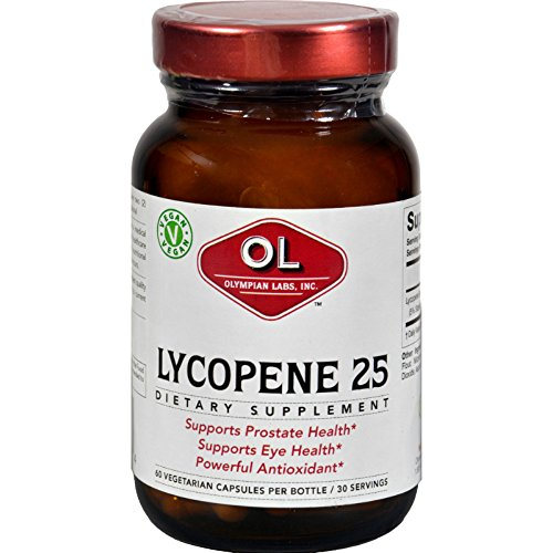 Olympian Labs Lycopene - 25 mg - 60 Vegetarian Capsules by Olympian Labs