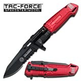 NEW AO Fire Fighter Knife with LED light TF749FD Review