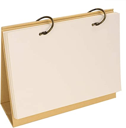 Schreibtischkalender aus Kraftpapier Top Easy Flip Stand Alone Desk Office Planer Agenda Kalender Memo 210 * 185 * 72mm gelb Graffiti-Kalender Kalender Malerei