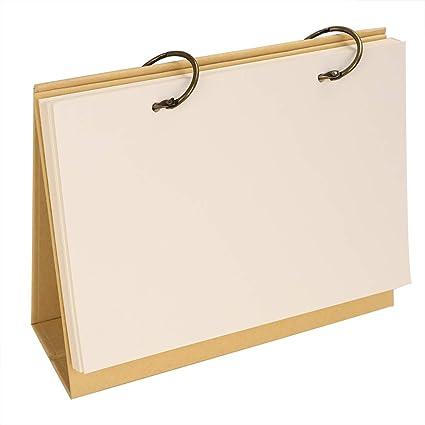 Calendario 2019 - Escritorio de papel kraft blanco, planificador ...