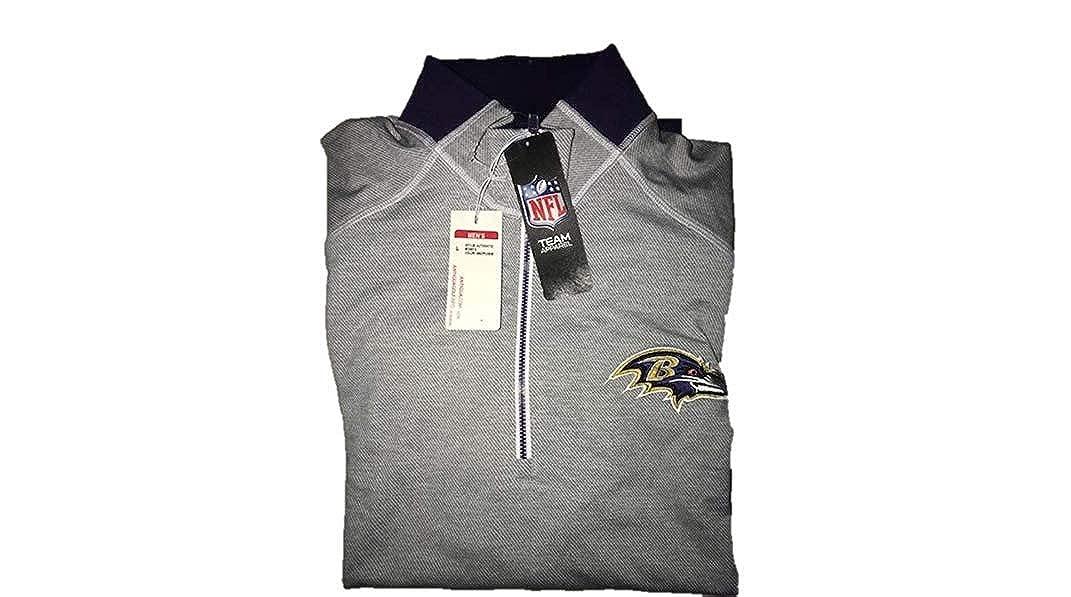 NFL Baltimore Ravens Half Zip Jacket