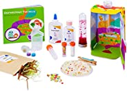 MEandMine Journey Down The Belly STEAM Kit - Learn Digestion & Nutrition - Inspire Healthy Habits, Self-Di