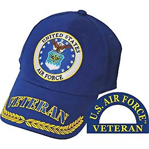 Space Marine Costume Amazon (U.S. Air Force Veteran Hat Blue)