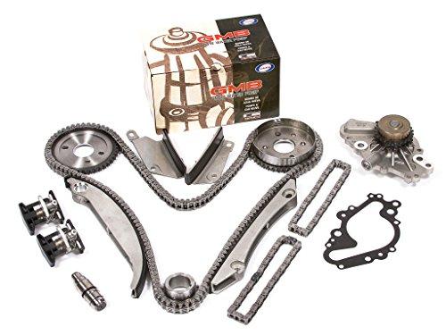 Evergreen TK5027HWP2 Fits 00-04 Dodge Chrysler 2.7L Timing Chain Kit Water Pump (SBEC cam gear) (2002 Chrysler Sebring Timing Belt Or Chain)