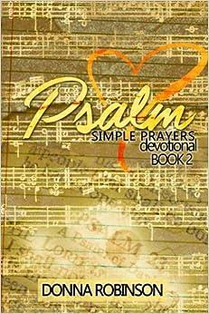 Psalm simple prayers book 2: Volume 2