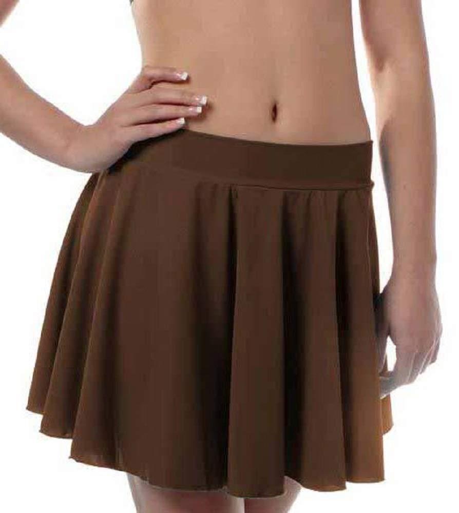 Girls Irish Dance Skirt Medium Brown by B Dancewear Child Sizes by Bailar Dancewear