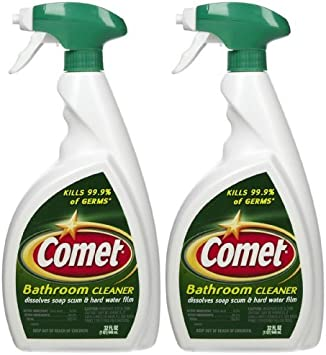 Amazon Com Comet Bathroom Cleaner Spray 32 Oz 2 Pk By Comet Office Products