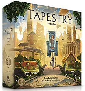 Stonemaier Games Tapestry Multiplayer Board Game