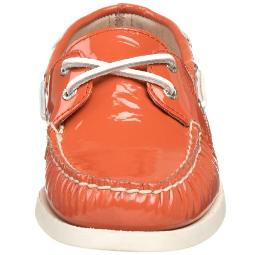 New Sperry Men's A/O Boat Shoes Orange Leather 11.5