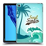 Head Case Designs Soul Surfer Extreme Sports Collection 2 Soft Gel Case Compatible for Huawei MediaPad M5 Lite