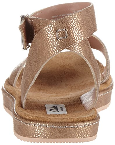 gold Multicolore Sandales Femme Moon Leather Clarks Romantic X0wx767v