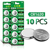 Health & Personal Care : LiCB CR1620 3V Lithium Battery CR 1620 (10-Pack)