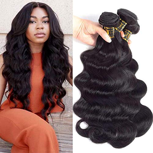 QTHAIR 10a Brazilian Deep Wave Human Hair Brazilian Hair Bundles Weave Hair Human Bundles 10a Brazilian Virgin Hair For African Americans Women