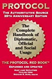 img - for PROTOCOL-35TH ANNIVERSARY ED. by Mary Jane McCaffree (2013-05-04) book / textbook / text book