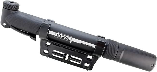 ELTIN E0011 Hinchador Mini Válvula Reversible, Unisex Adulto, Negro