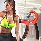 ArMordy(TM) 10-40KG Adjustable Heavy Grips Fitness Gym Hand Grip Strength Exercises Hand Gripper Hand Wrist Forearm Strength Expand