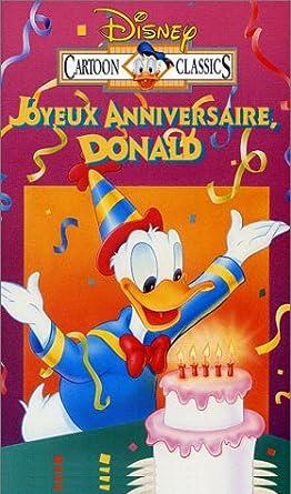 Mini Classiques Joyeux Anniversaire Donald Vhs Walt Disney