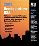 Headquarters U. S. A. 2003, Darren L. Smith, 0780806077