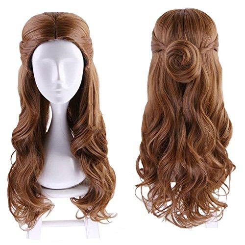Cosplay Princess Rapunzel Wig; Adult/Teen Costume (Aqua Bella Costumes Wig)