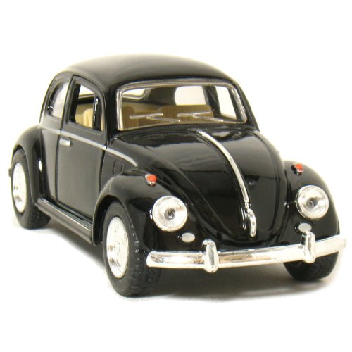 lassic Beetle 1:32 Scale (Black) by Kinsmart (Volkswagen Model)