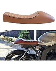 Universal Motorcycle Flat & Hump Saddle Cafe Racer Refit Vintage Seat Cushion For Honda Yamaha Suzuki Yamaha
