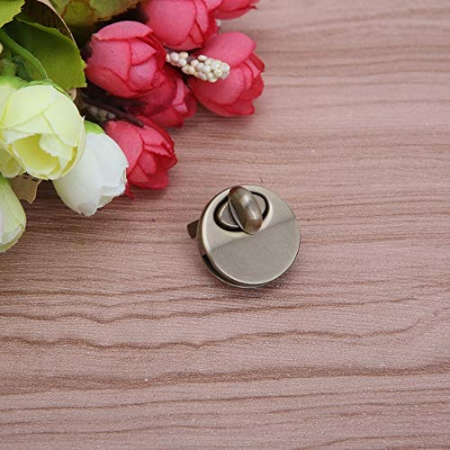 Daisy Storee Purse Luggage Accessories Switch Round Shape Metal Twist Lock DIY Bag Button