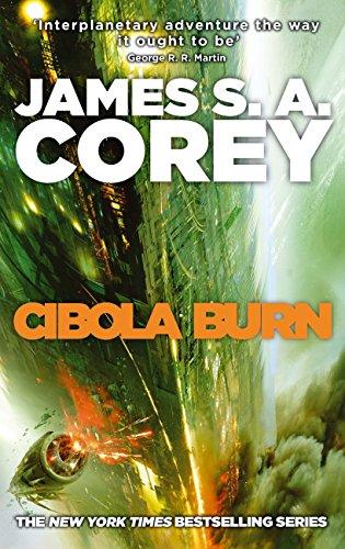 Cibola Burn. The Expanse vol 4 book cover