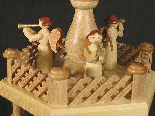 Dregano 4 Level Natural Wood Nativity Christmas Pyramid by Dregano (Image #5)