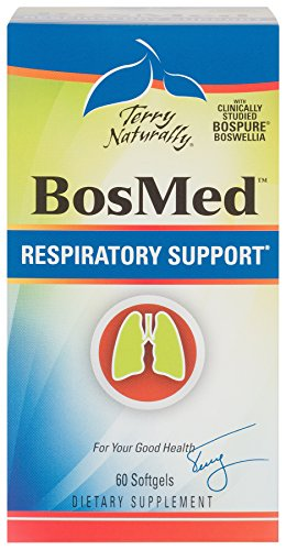 Terry Naturally BosMed Respiratory Support - 60 Softgels