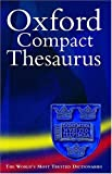 Oxford Compact Thesaurus, Maurice Waite, 0198603746