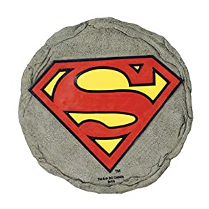 Amazoncom Spoontiques Superman Logo Stepping Stone Garden
