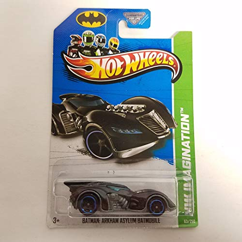 Batman Arkham Asylum Batmobile 2013 HW Imagination Hot Wheels 1/64 Scale diecast car no. 63
