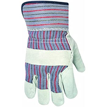 CLC Custom Leathercraft 2046B Work Gloves with Safety Cuff and Wing Thumb, 12-Pair, for Gardening or Landscaping